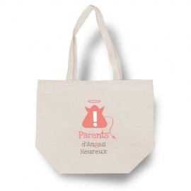 "Tote bag ""Parents d'Anges Heureux"""