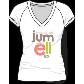 Tee-shirt Femmes jumelles