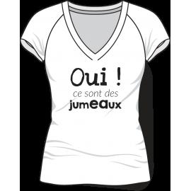 Tee-shirt Oui femme