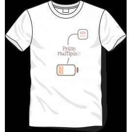 Tee-shirt prise