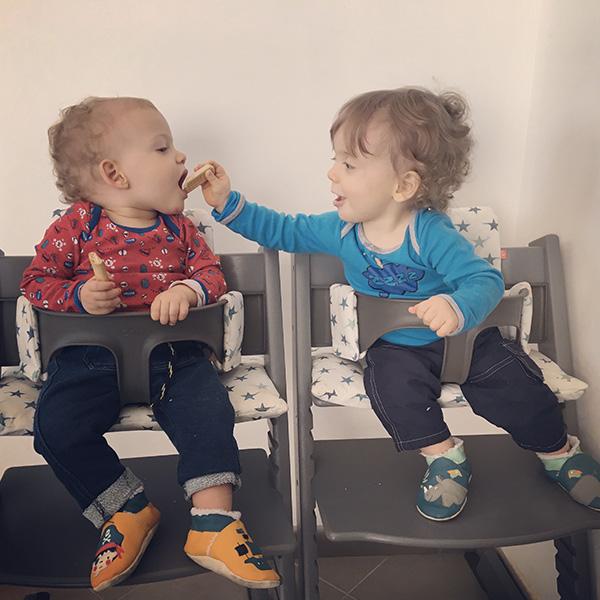 Quelle chance, d'être une maman de jumeaux !