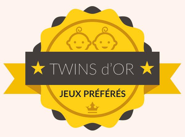 Palmarès des jouets préférés de nos twins