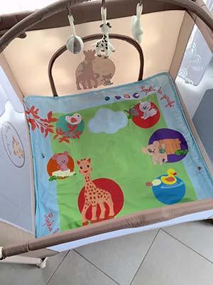 Notre Tapis Déveil Touch And Play De Sophie La Girafe
