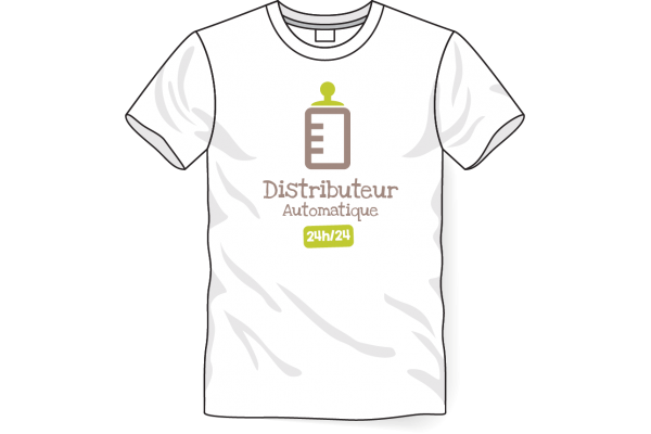 Tee-shirt Distributeur
