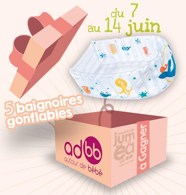 Concours #3 Baignoire gonflable Babybus - Autour de bébé