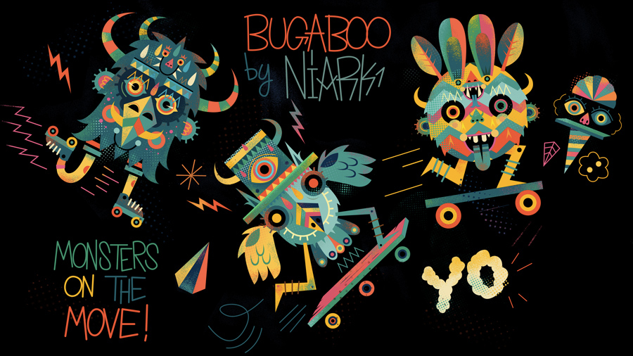 Nouvelle édition Bugaboo : Niark1 !