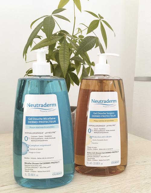 Notre choix de gel douche pour nos peaux sensibles !