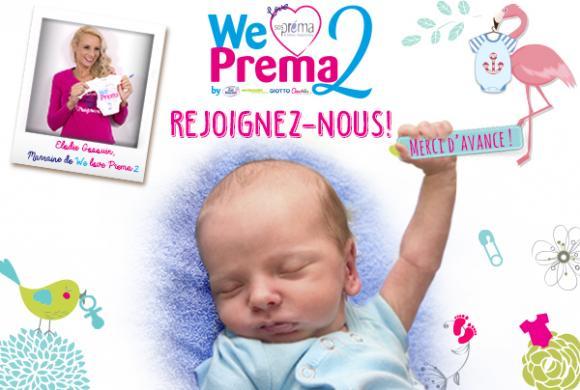 J-7 avant le lancement de la collecte pour We Love Prema 2